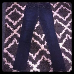 CITIZENS OF HUMANITY straight leg skinny jeans 27